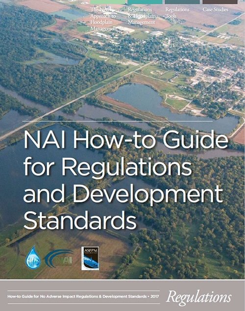 """Cover image of """"NAI How To Guide for Regulations and Development"""" document."""