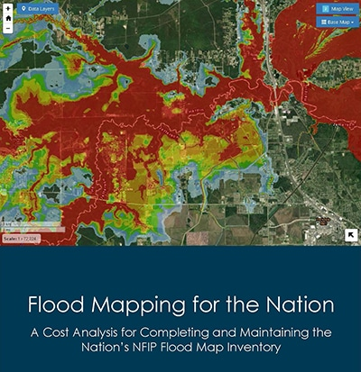 Cover of Flood Mapping for the Nation report.