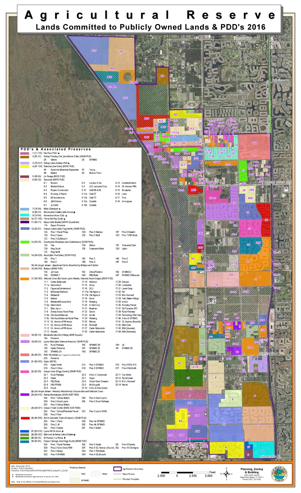 palm beach county's agricultural reserve - flood science